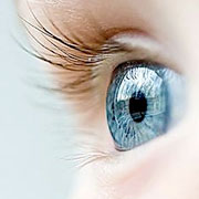 Colored contact lenses let your eyes transform your face