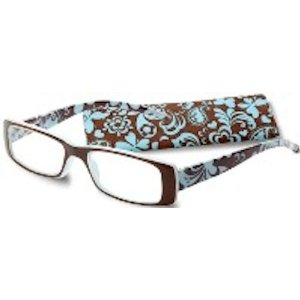 floral pattern icu reading glasses