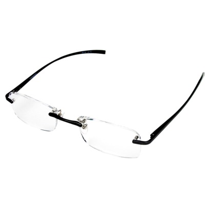stylish cheap rimless reading glasses from Foster Grant