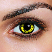 scary Halloween contact lenses