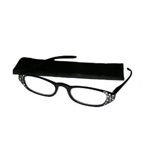 icu rhinestone reading glasses
