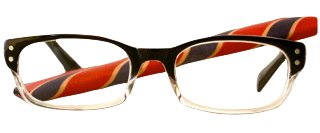 retro vintage reading glasses