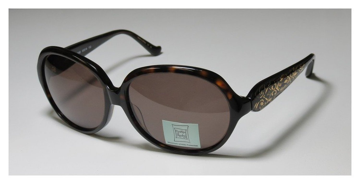 Cynthia Rowley 0353 Tortoise Womans Designer Sunglasses