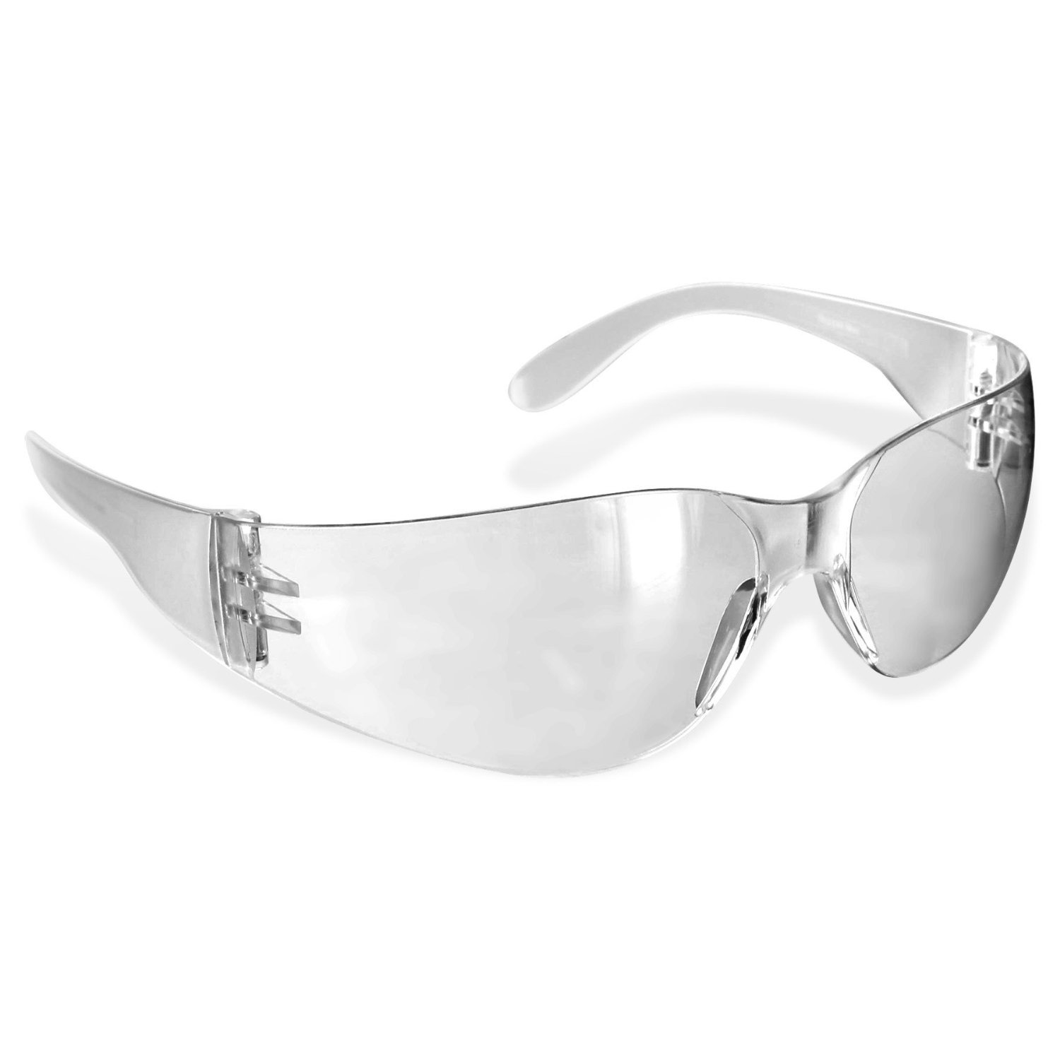 12 pack safety glasses in smoke, clear or amber