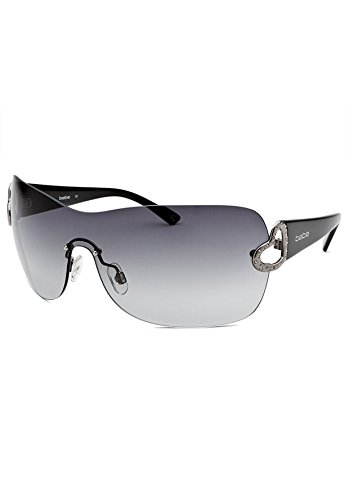 Bebe affectionate black sheild sunglasses
