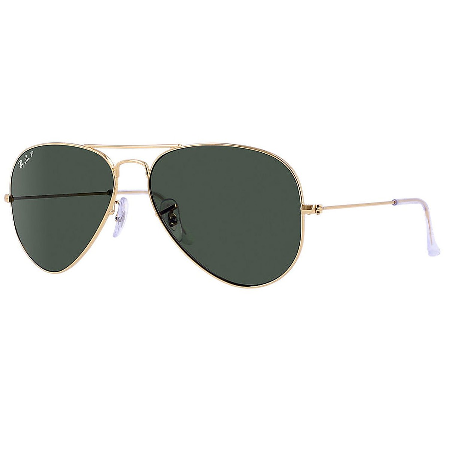 Ray Ban Large Metal Polarized Sunglasses