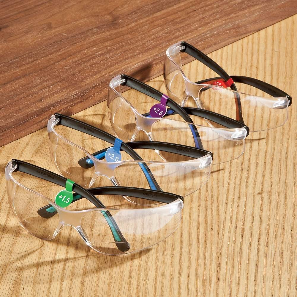 FastCap Magnifying Bifocal Safety Glasses