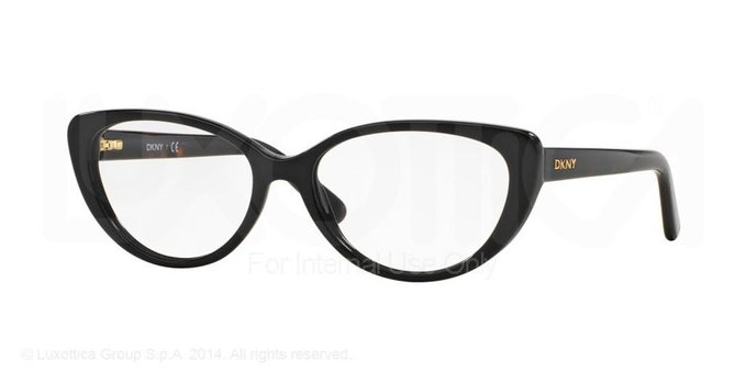 Donna Karan New York Black Eyeglasses