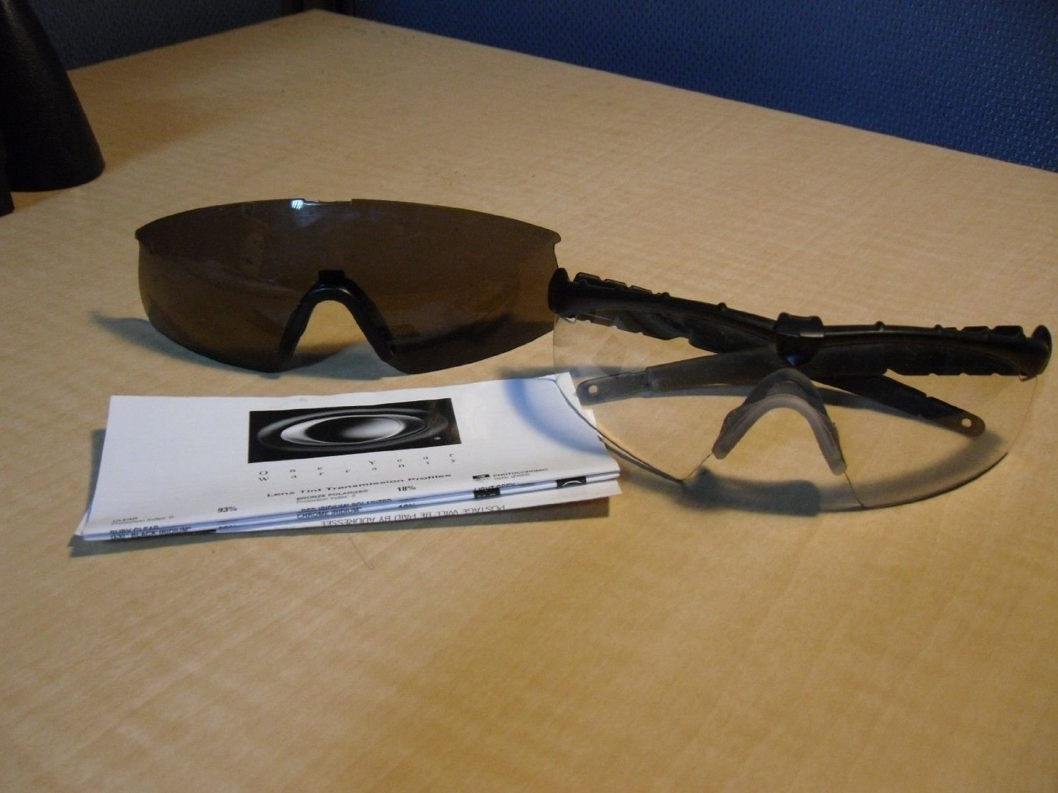 Oakley Ballistic Industrial Strength Safety Glasses