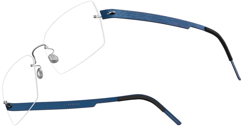Lindberg Spirit Eyeglasses with your choice of Nose Pads