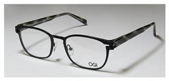 Ogi 5500 Series Black Horn Eyeglasses