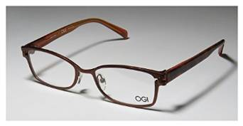 Ogi 5501 Light Brown Bronze Havana Full Rim Eyeglasses