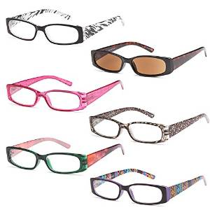 Six Pair High Quality Gamma Ray Reading Glasses