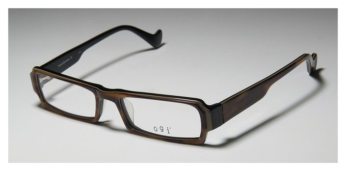 Ogi 9040 Black Havana Full Rim Eyeglasses