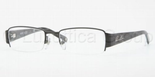 Satin Black Anne Klein Eyeglasses