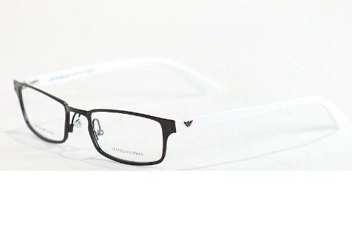 Emporio Armani Slim Brown Eyeglasses