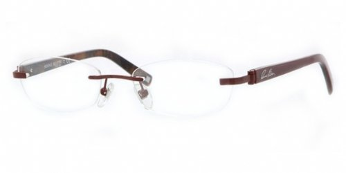 Anne Klein sleek Rimless Eyeglasses