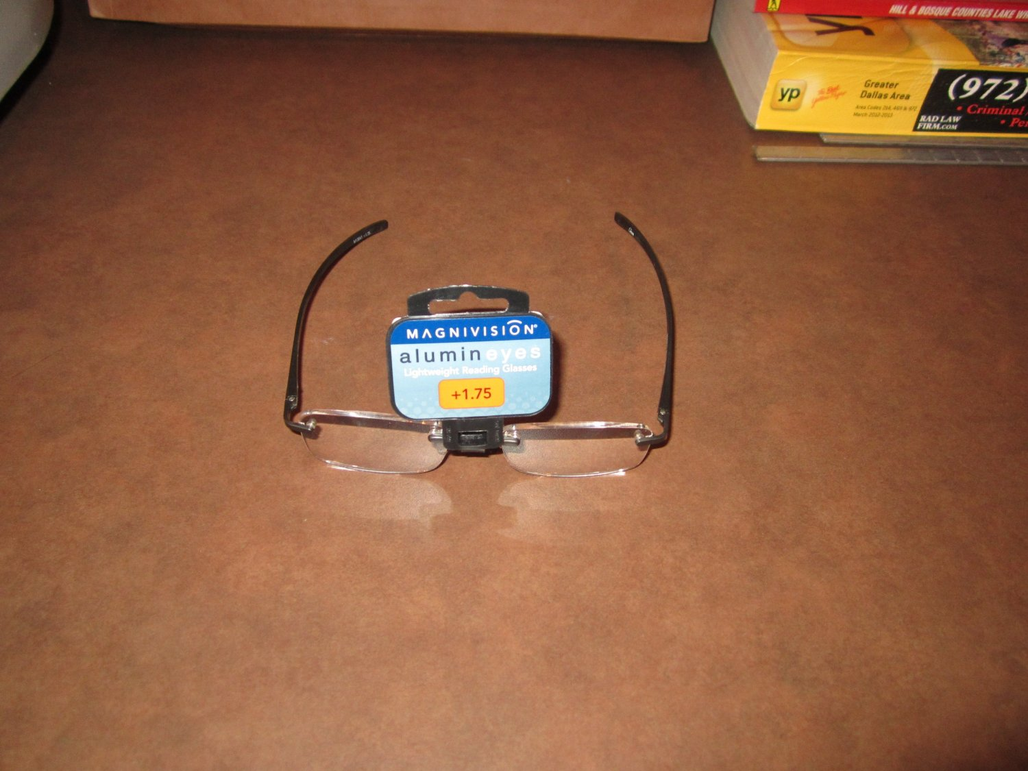 Magnivision Alumineyes Lightweight Reading Glasses