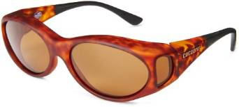 Cocoons Fitover Stream Line Tortoise and Amber Sunglasses