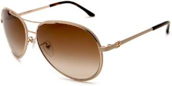 Eagle Eyes Gunmetal Aviator Sunglasses