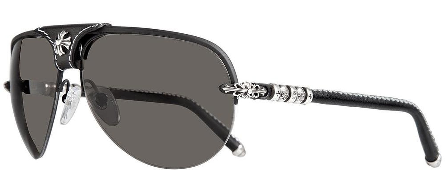 Chrome Hearts Balls Matte Black Sunglasses