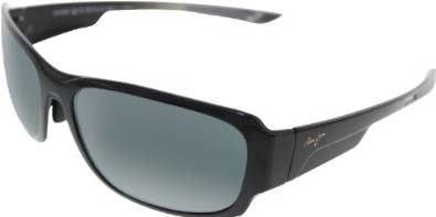Maui Jim Black Bamboo Forest Sunglasses