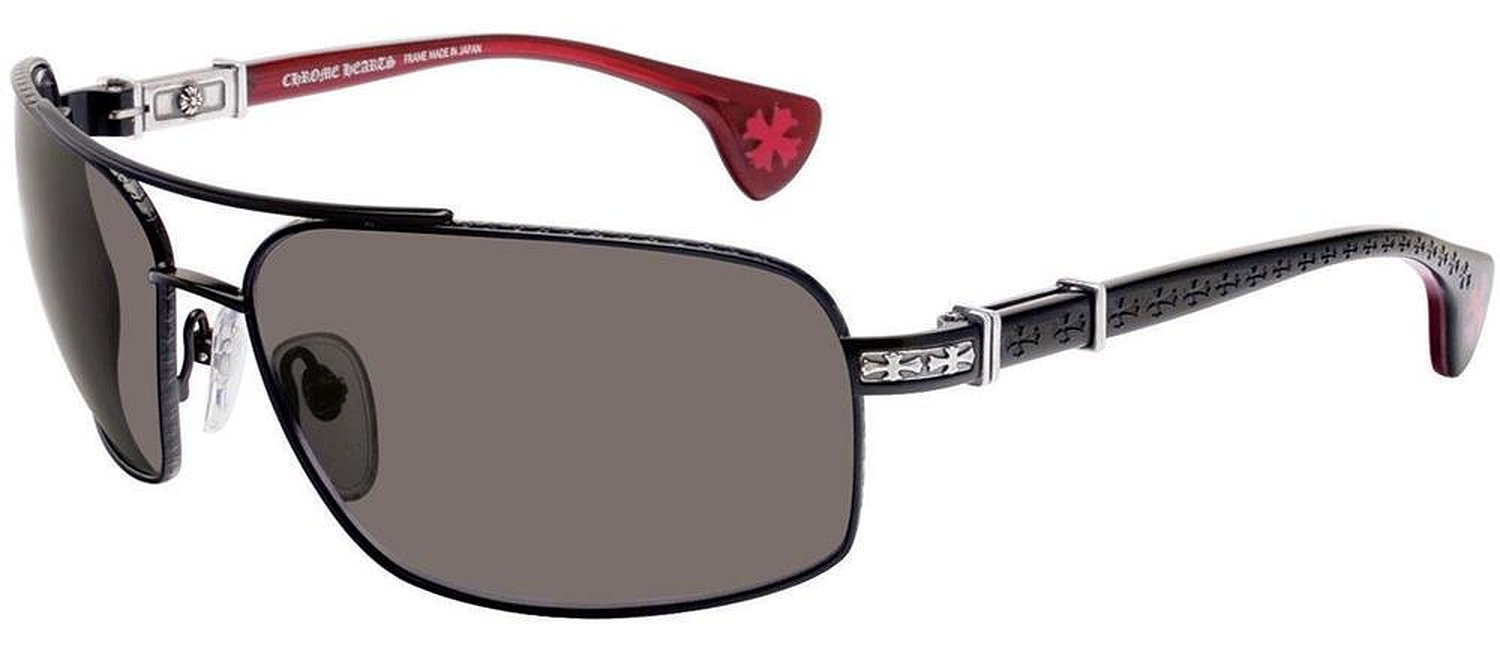 Chrome Hearts The Beast III Pomegranate Sunglasses