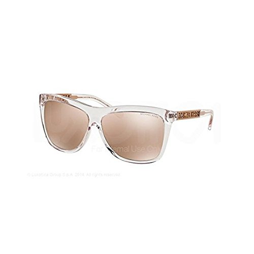 Michael Kors Benidorm Rose Crystal Gold Sunglasses