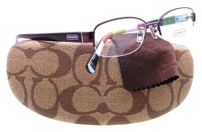 Coach Bettie Purple Eyeglasses