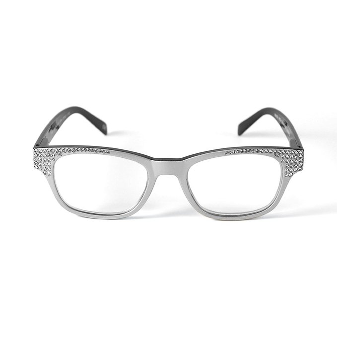 Jimmy Crystal Reading Glasses Fun Cheap Designer Reading