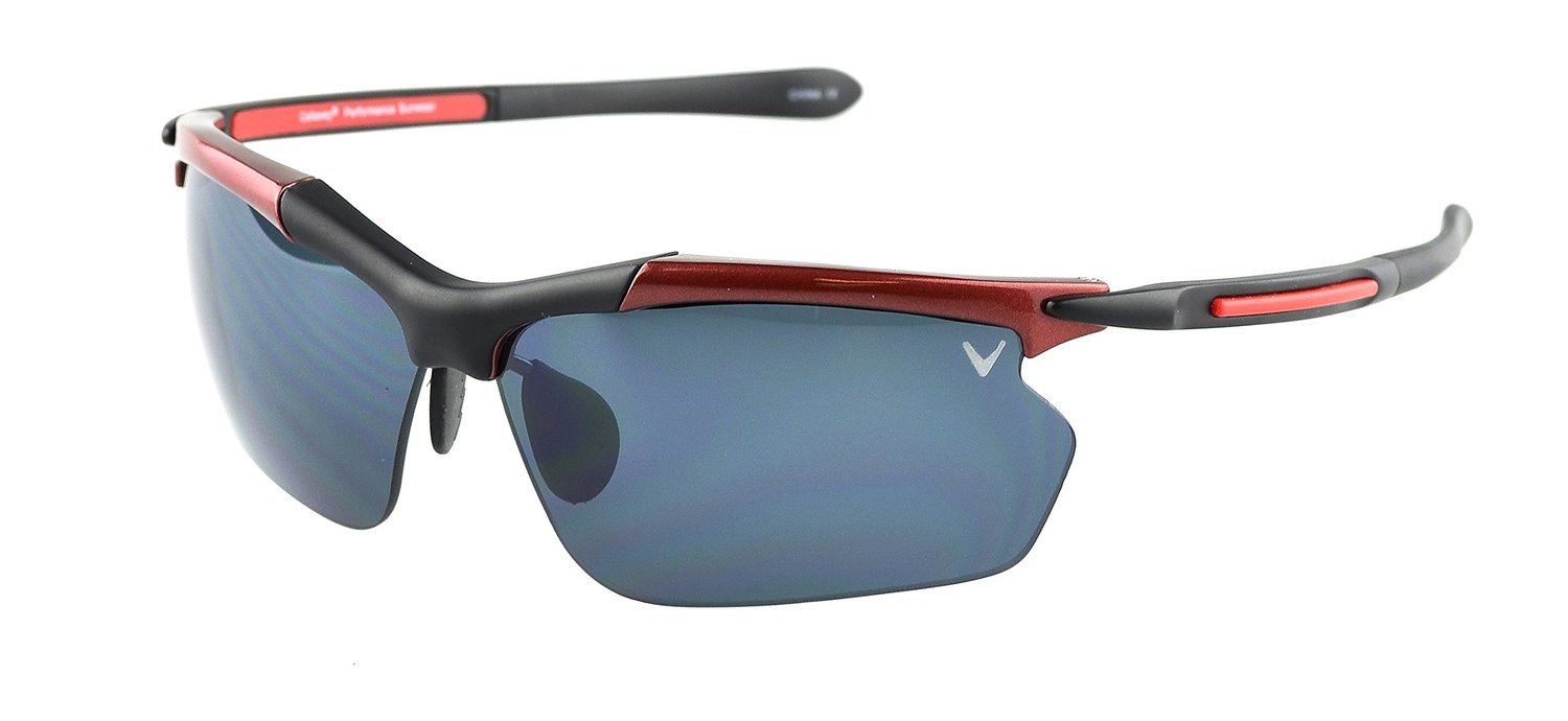 Callaway Hyperlite Sunglasses with a cool Black and Red Frame