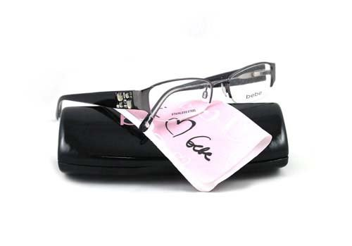 Bebe black diamond amorous eyeglass frames