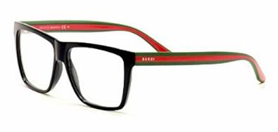 Beautiful Black and Red Designer Eyeglasses