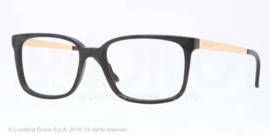 Versace VE 3182 Beautiful Black Sand Eyeglasses