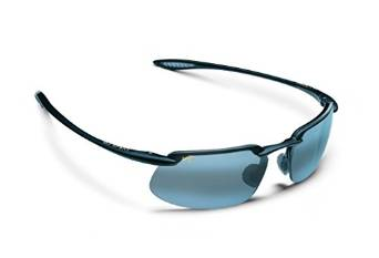 Crews CPA118B Blue Lens and Black Frame Plasma Safety Glasses
