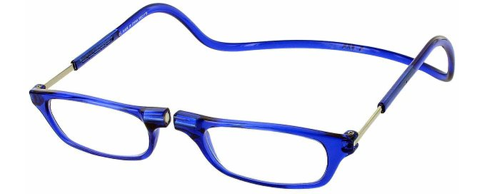 Blue Clic Magnetic Reading Glasses
