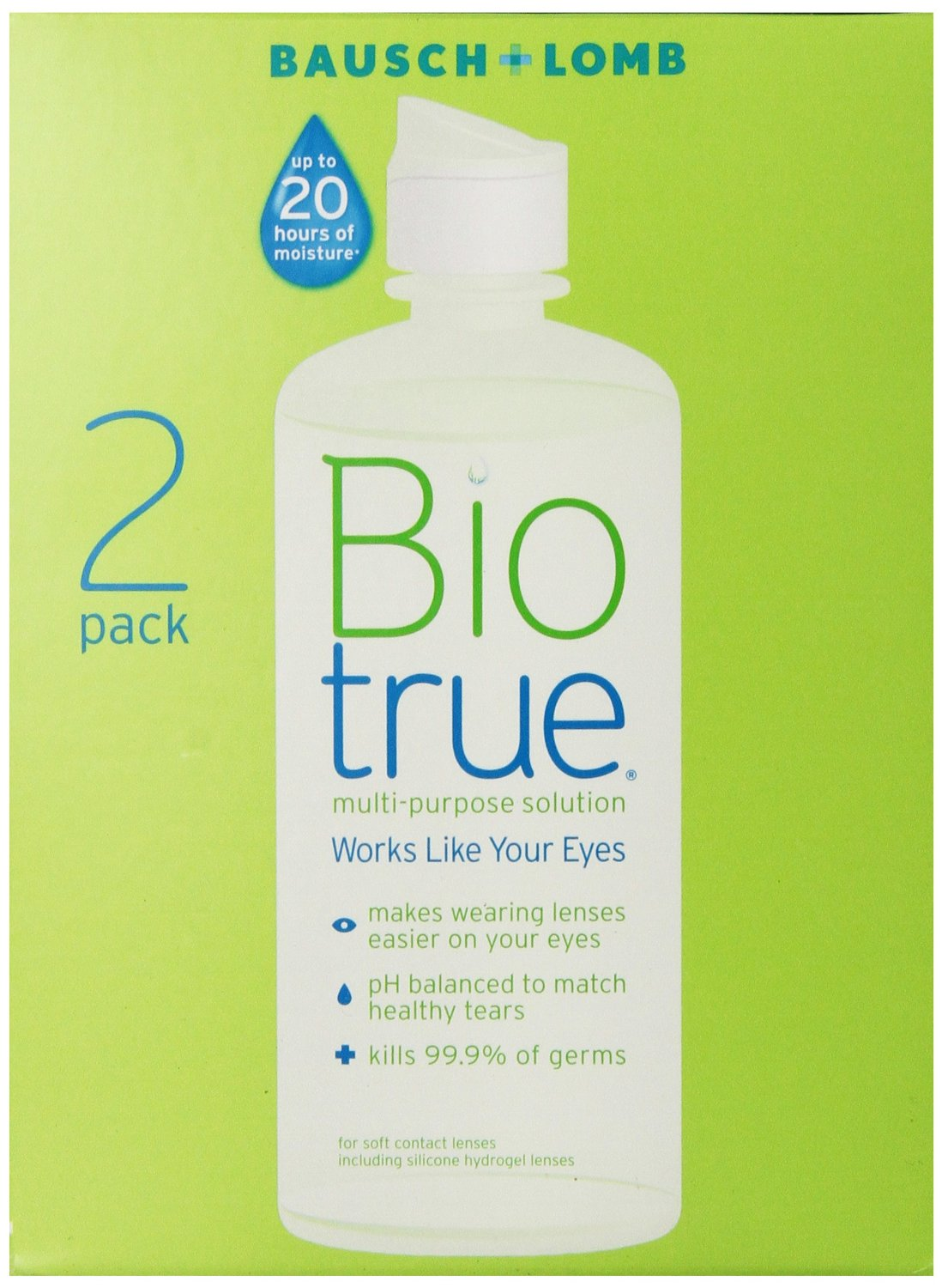 Biotrue Multi-Purpose Contact lens Cleaning Solution