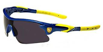 Boys Blue and Yellow Performance Sunglasses