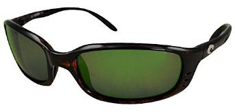 Costa Del Mar Brine Sunglasses in Tortoise and Green