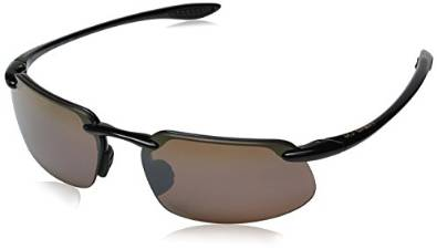 Maui Jim Gloss Black and Bronze Sunglasses