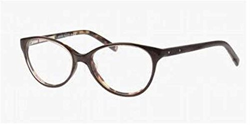 Brown Full Rim Anne Klein Eyeglasses