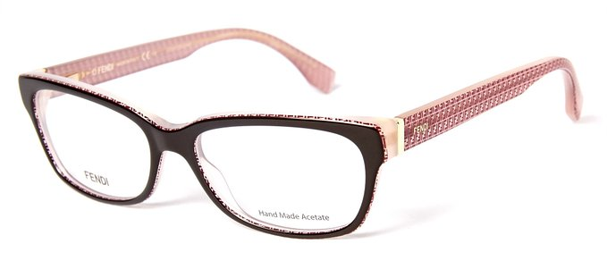 Fendi Burgandy Eyeglasses