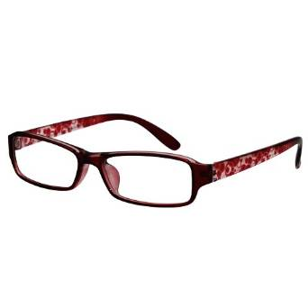 Beautiful Burgundy Oval Reading Glasses