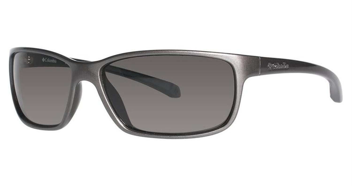 Columbia EL Capitan Sunglasses with a Metallic Gunmetal Carbon Blue Frame