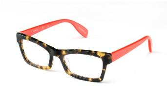 Trendy Tortoise and Salmon Specs