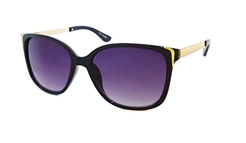 Retro Cat Eye Square Sexy Women Sunglasses with Metal Frame