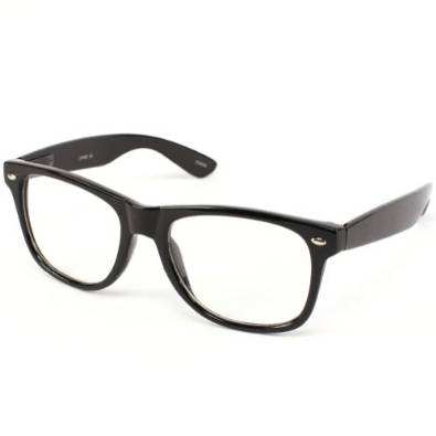 Retro Clark Kent Clear Lens Reading Glasses