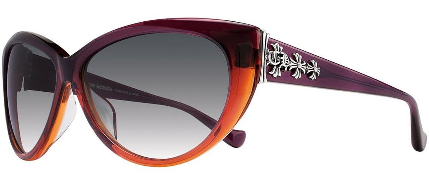 Chrome Hearts Club Sandwich Purple to Rose Gradient Sunglasses