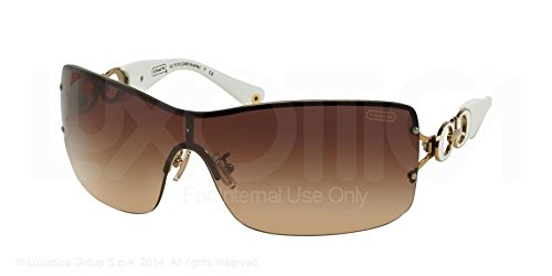 Coach Brown Fashion Designer Sunglasses for Women