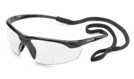 Gateway Conqueror Safety Glasses with 2 Diopter Magnification